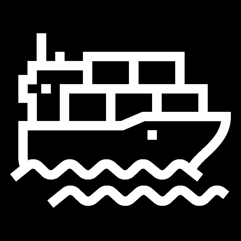 Icon Dueve Schiff neu weiß